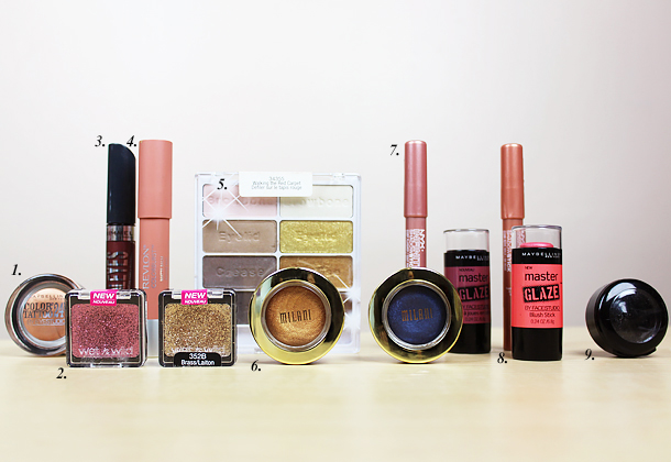 drugstore hit misses review tag milani revlon maybelline rimmel wetnwild