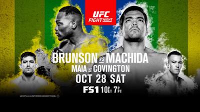 UFC Fight Night 119 Brunson vs Machida 28th October 2017 HDTV 480p 650Mb x264