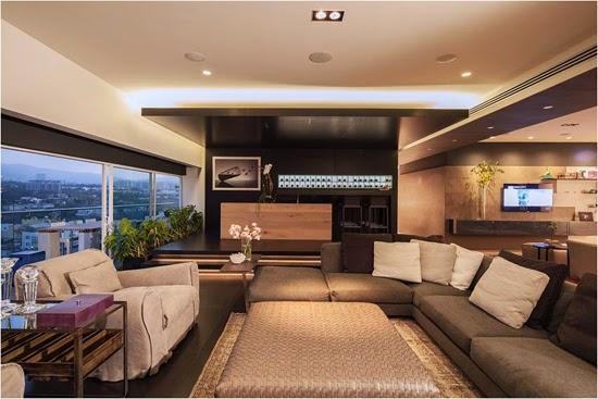 Podio departamento banch mar for Maestria en arquitectura de interiores