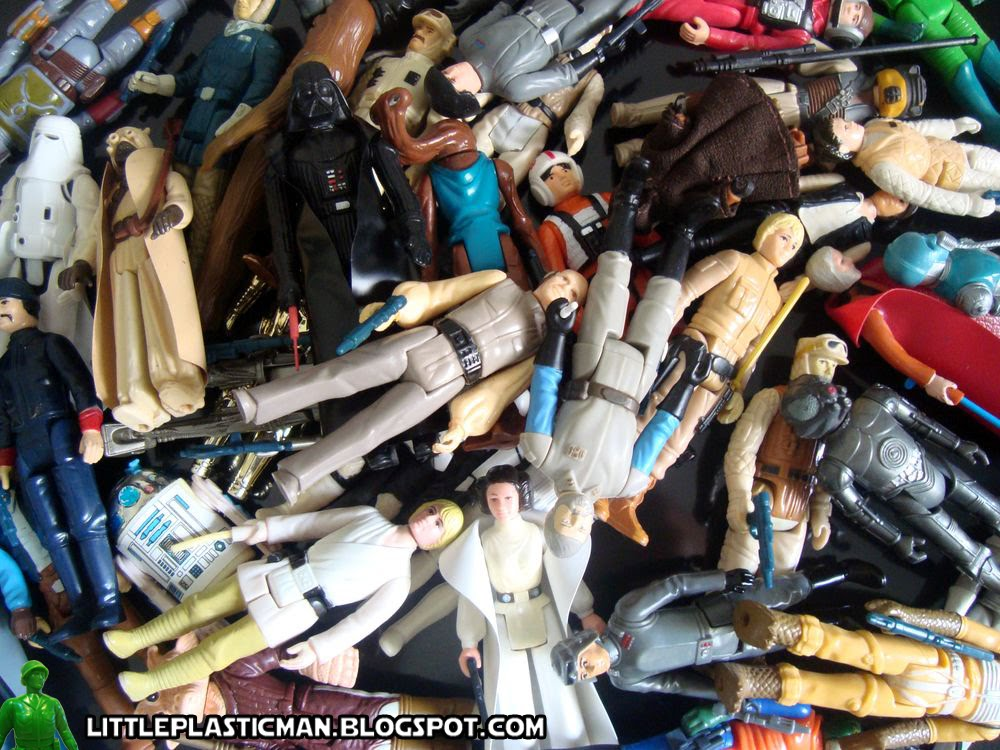 Old Star Wars Toys : Little plastic man toy and review singapore