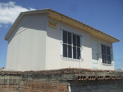 casas prefebricadas roca sobre terraza