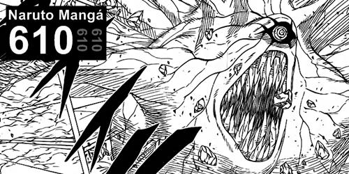 Naruto Mangá 610 - Juubi