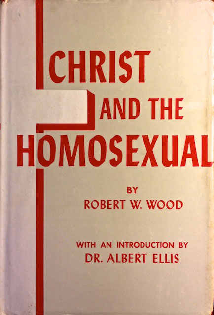 Cover of the 1960 book Christ and the Homosexual