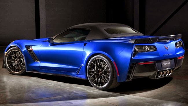 2015 Chevrolet Corvette Z06 Convertible Rear