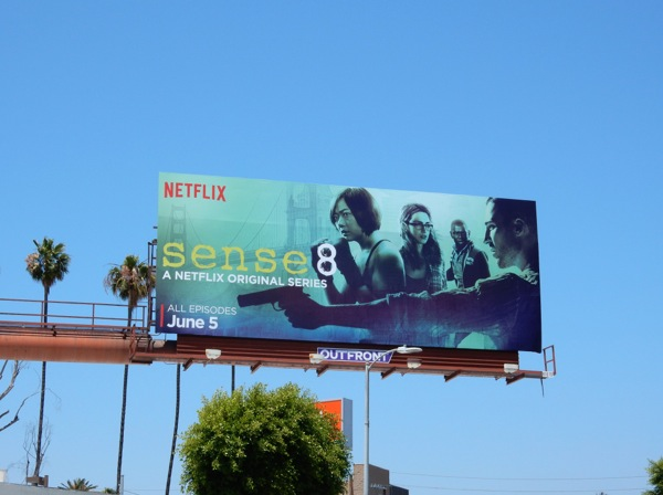 Sense 8 series premiere billboard
