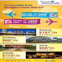 Hot Deals on Hotel & Flight booking