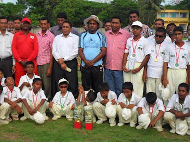Wining Team Of Sunam Gong Blind Cricket Club