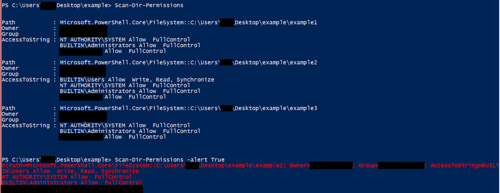 Scan Dir Permissions Powershell For Pentesters Psse Lockboxx