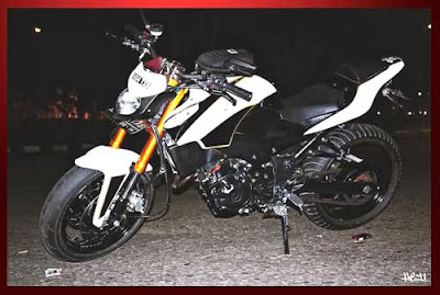 Tampang Maco Modifikasi Ninja 250 Streetfighter