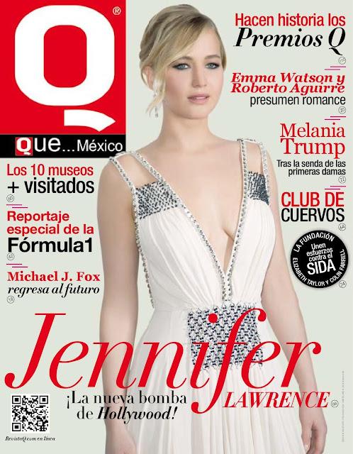 Actress @ Jennifer Lawrence - Q Mexico, November 2015