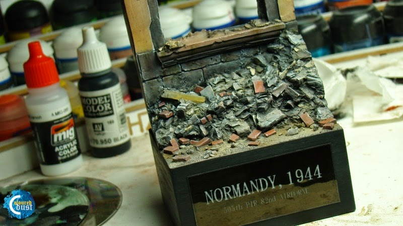 Coloured Dust: Normandy 1944 Scenic Base