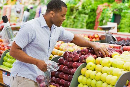 اعرفى شخصية حبيبك او خطيبك من الفاكهة التى يحبها - man fruits - grocery_shopping_man