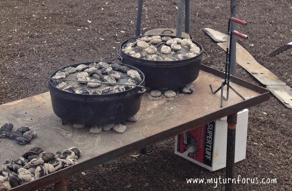 How To Make The Best Texas Peach Cobbler Dutch Oven