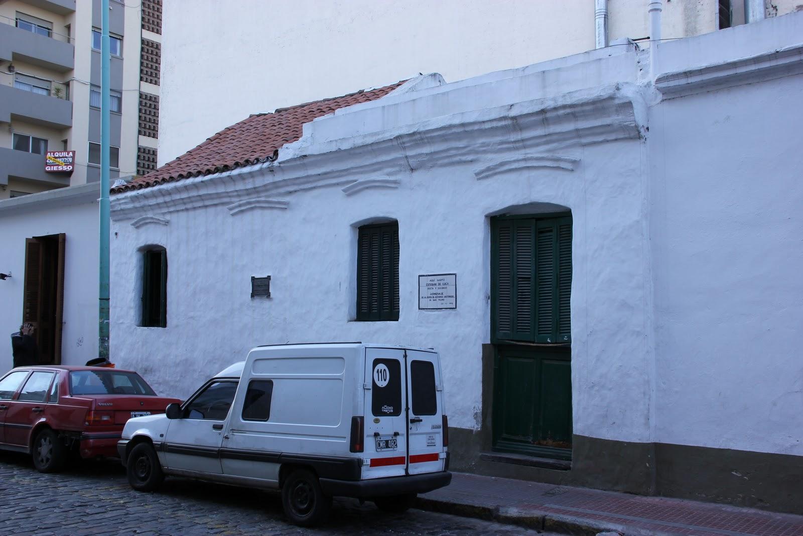 Seminario historia de buenos aires viviendas particulares m s antiguas - La casa de luca ...