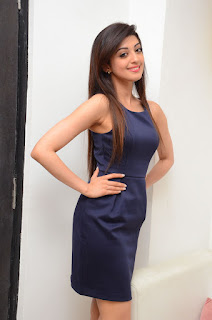 Actress Pranitha Latest Pictures in Short Dress at Dynamite Interview (19)