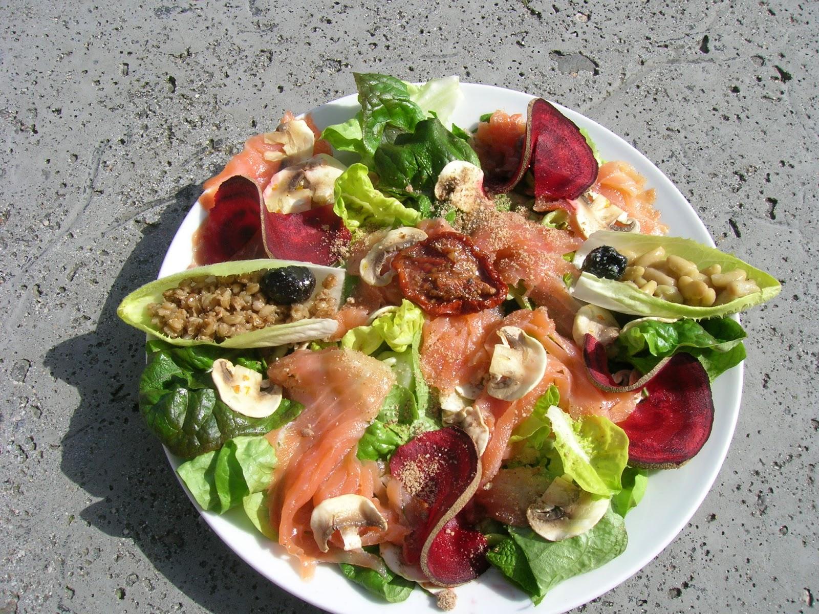 Maigrir avec la m thode montignac phase 1 menus bas ig du samedi 16 mars 2013 - Salade d hiver variete ...
