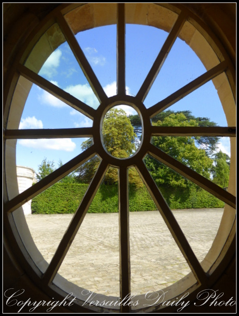 Window Petit Trianon Versailles