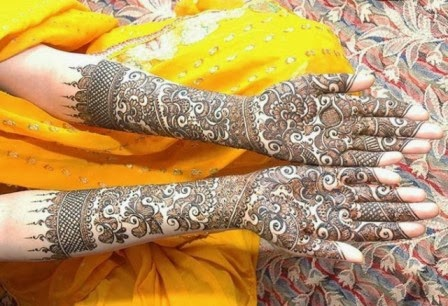 Bridal mehndi designs 2013-14