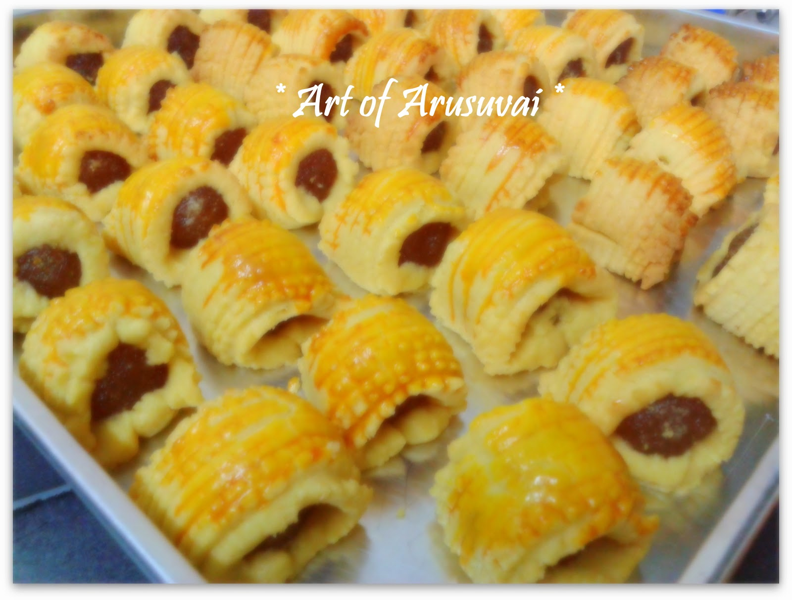 ART OF ARUSUVAI: ^ PINEAPPLE JAM TART ^