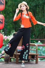 New 2017 Oriental Blouse Collections
