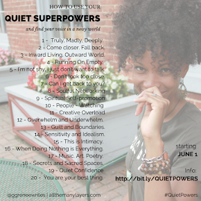 QUIET POWERS (New E-Course!)