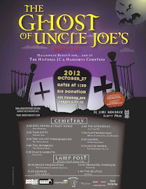 The Ghost of Uncle Joes | A Benefit for and At the Historic JC and Harsimus Cemetery