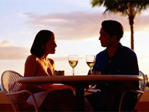 How To Express Emotions In A Relationship? - man and woman drinking at sunset