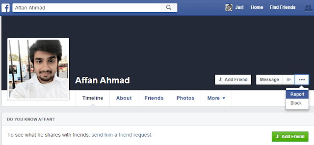 Facebook-Report-Account