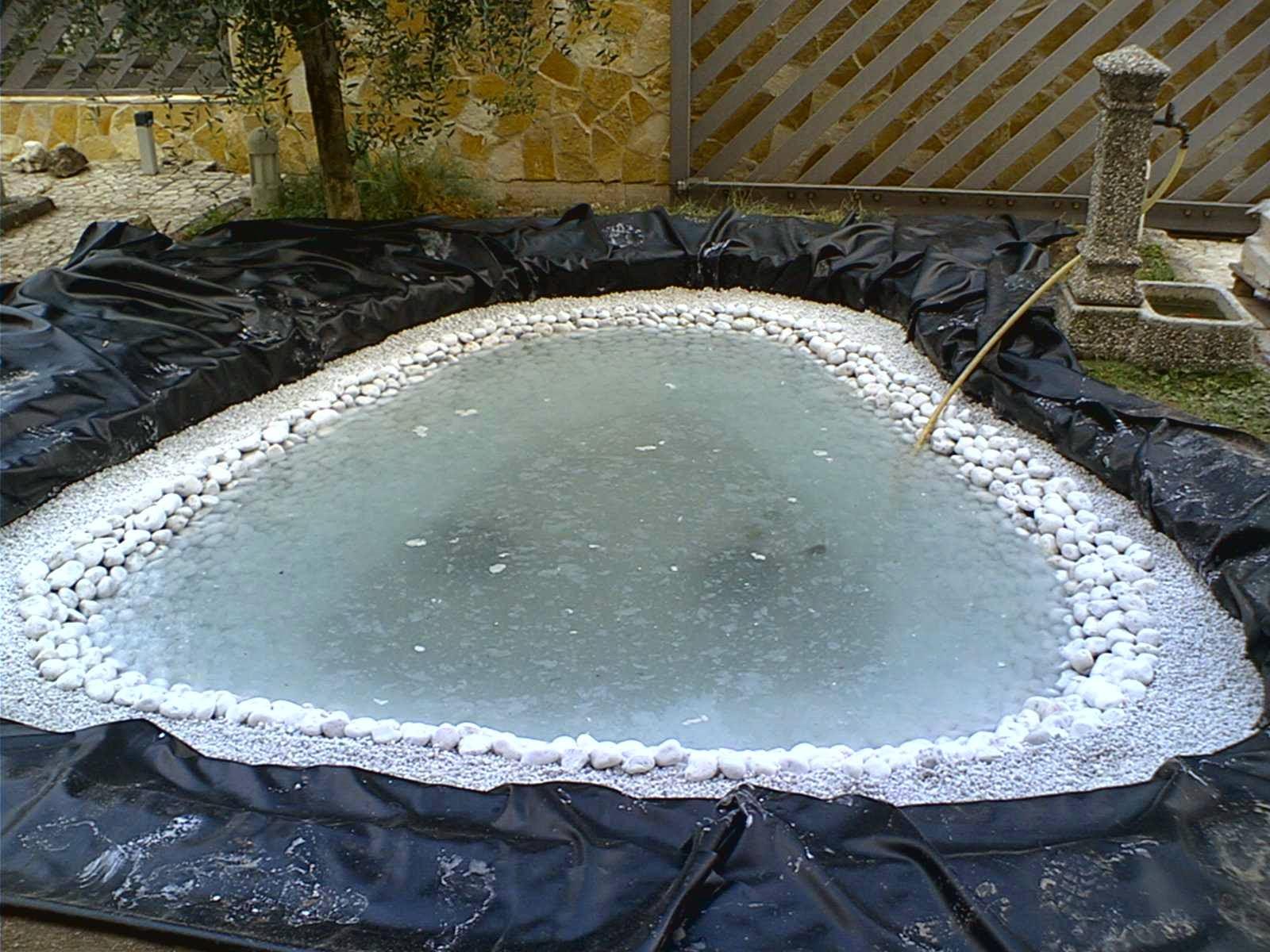 Laghetto la costruzione di un giardino acquatico for Creare un laghetto in giardino