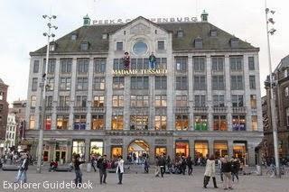 museum madame tussaud amsterdam dam square