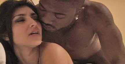 Kim kardashian sex tape with r jay