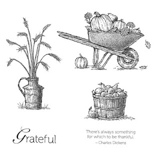 Stampin' Up! Always Thankful stamp Set Artwork
