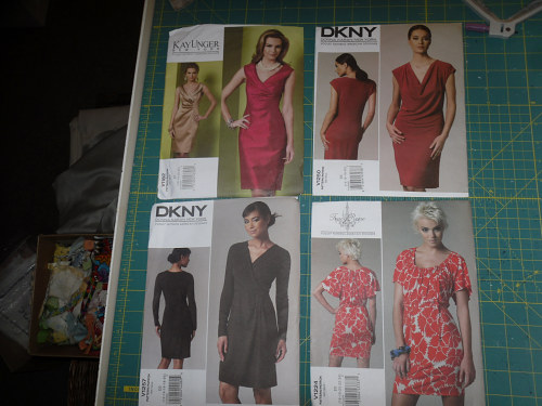 """This is why I need to stop buying patterns. All of these are my """"short"""
