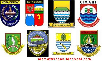 ^Alamat Kantor Walikota Provinsi Jawa Barat - Banten