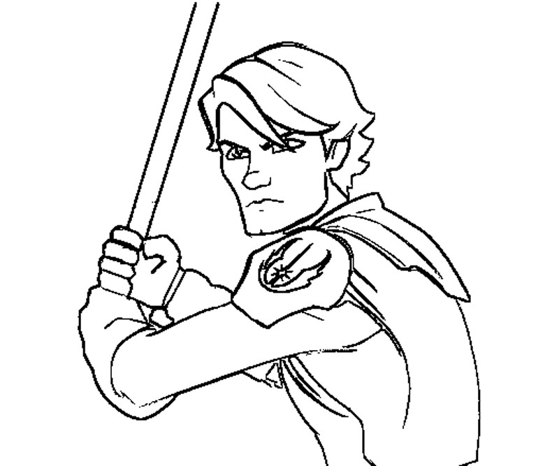 lego anakin skywalker coloring pages - photo#7
