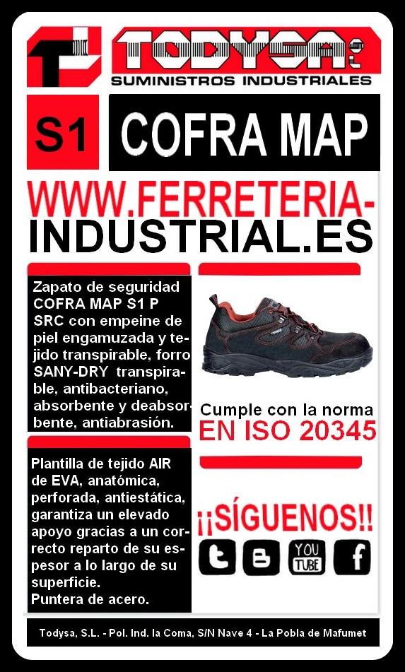 Calzado Seguridad Industrial De Sp Src Todysa Suministro Cofra 1 Map qvPE1