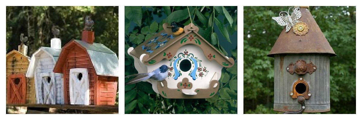 Souvent tra orto e giardino: casette per uccelli DR64