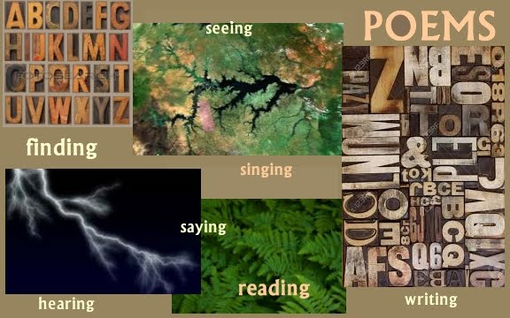 Writing Saying Hearing Seeing Poems