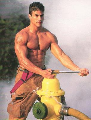 Marcus is a firefighter who, as most alpha males are prone to do, ...
