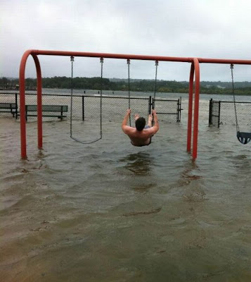 Having Fun in the Hurricane Irene Seen On www.coolpicturegallery.us