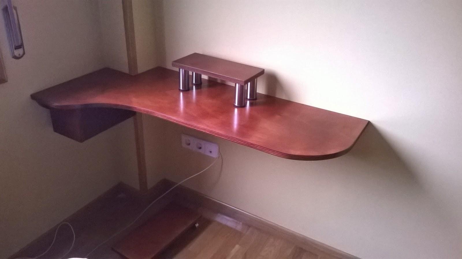 Mesa para ordenador computer table el garaje de la madera - Mesas de ordenador de diseno ...