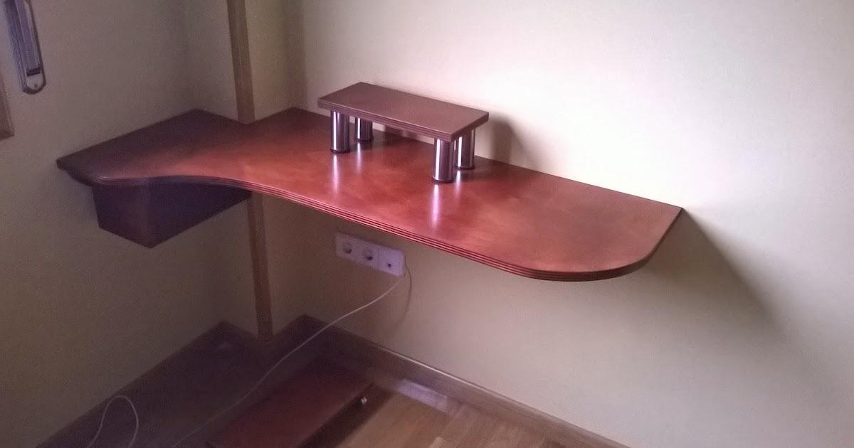 El garaje de la madera mesa para ordenador computer table - La table des merville castanet ...
