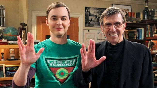 leonard nimoy big bang theory