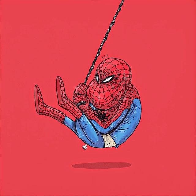 Homem-Aranha - Famous Oldies por Alex Solis