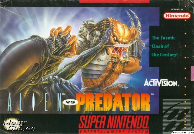 Jogo: Alien Vs. Predator (1993) [Super Nintendo]
