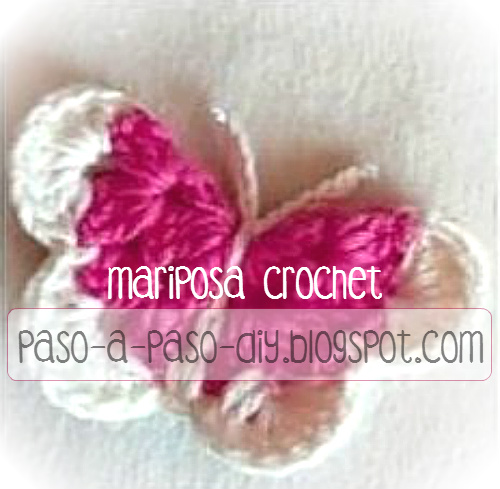 Cómo tejer una mariposa crochet paso a paso | Paso a Paso