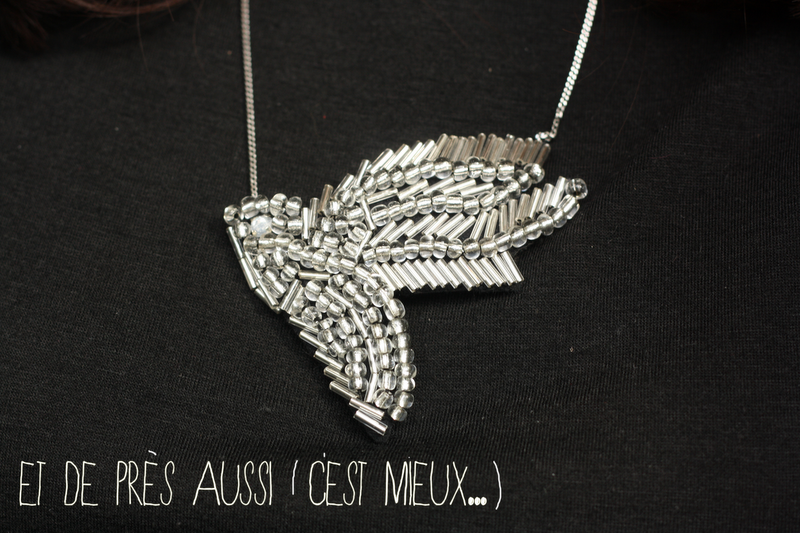 collier shourouk bird DIY