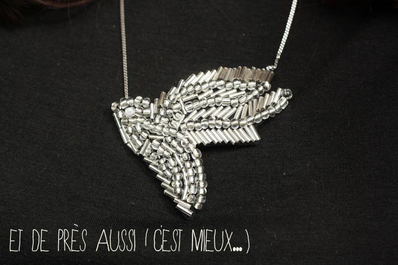 collier shourouk bird DIY