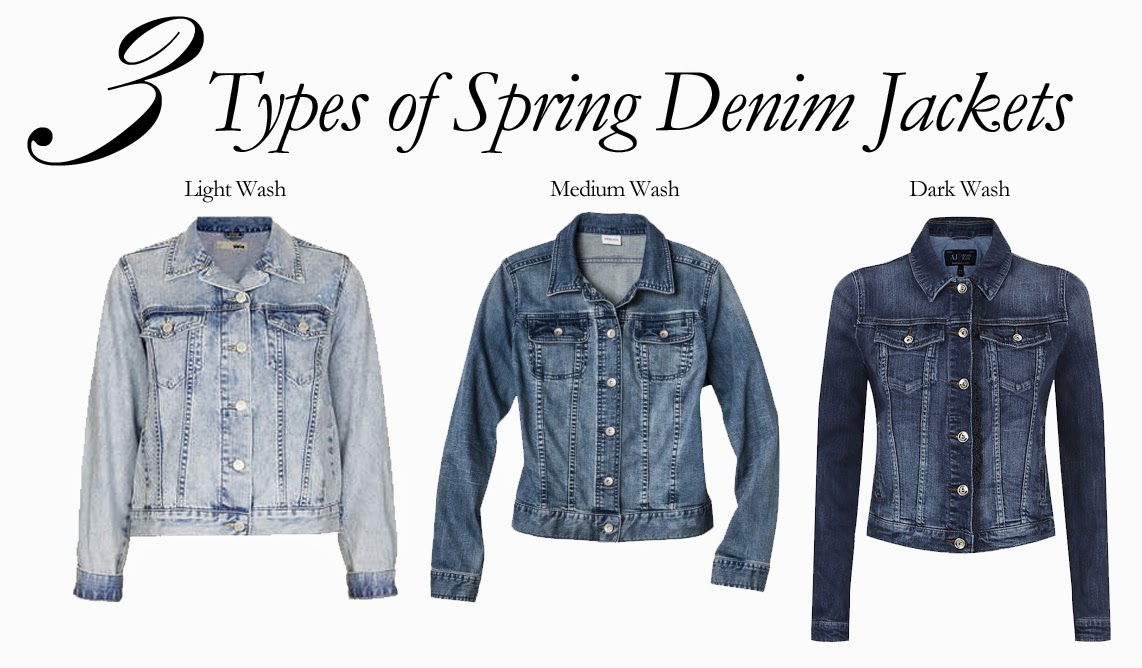 3 Types of Spring Denim Jackets