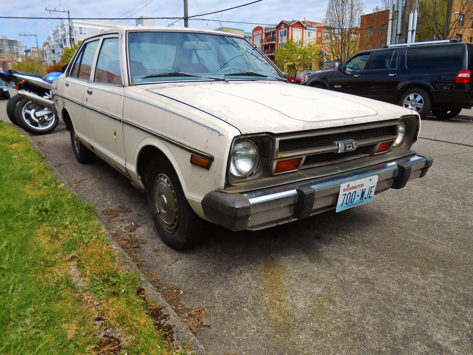seattle s parked cars 1979 datsun 210